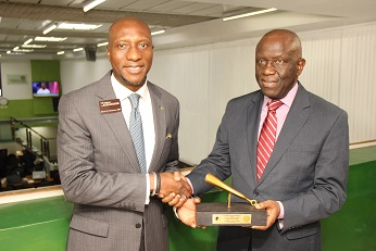 LAGOS CHAMBER OF COMMERCE & INDUSTRY CLOSING GONG CEREMONY AT NSE
