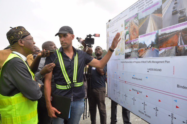 Lagos-Ibadan expressway construction now 58% completed