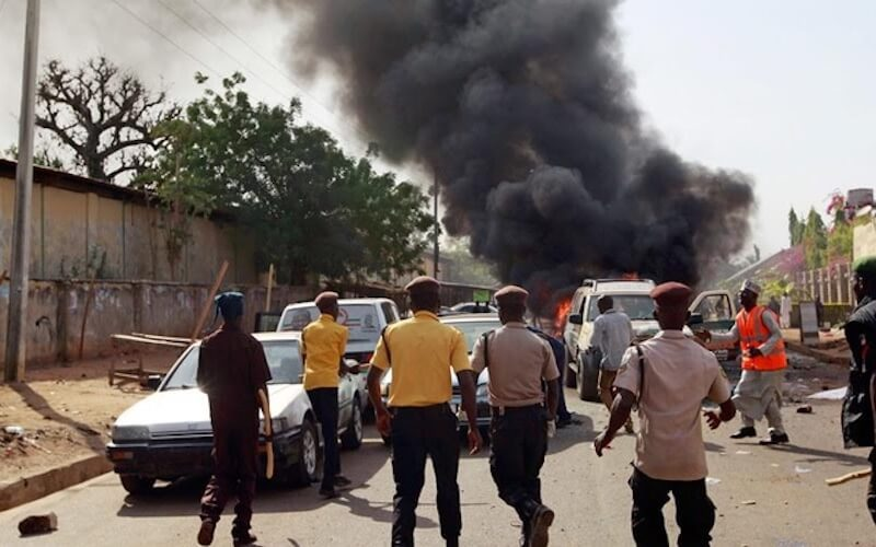 Suicide bombers kill at least three in Borno