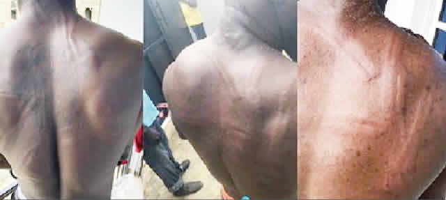 Soldiers torture asthmatic patient, brother in Lagos