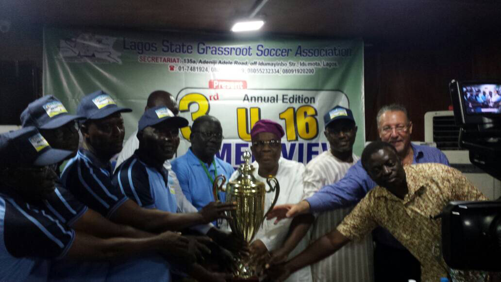 Lagos State 3rd U-16 Medview Airline Grassroot Football Competition in Pix