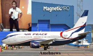 Air Peace gets first female captain