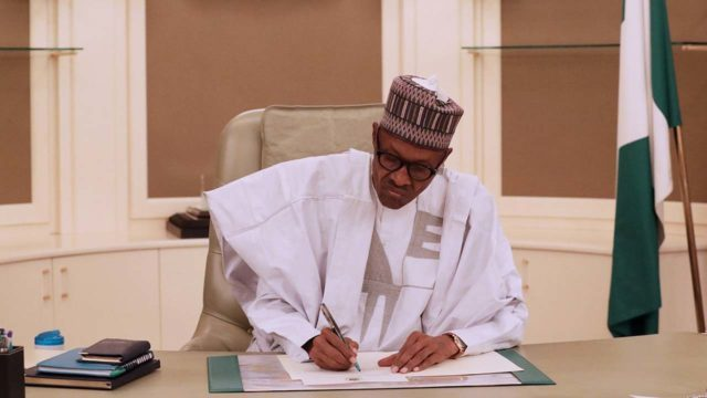 President Buhari makes new appointments for CBN, other agencies