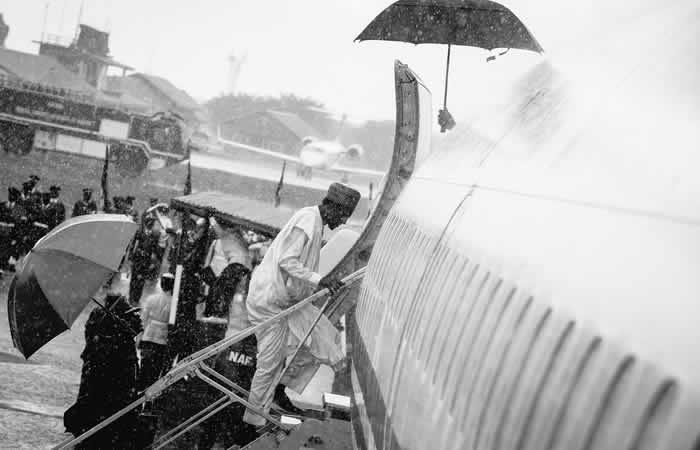 Buhari leaves Calabar for Jos
