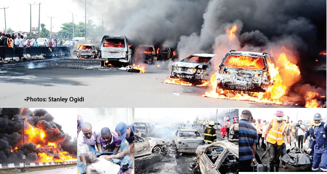 Rage of fire in Lagos