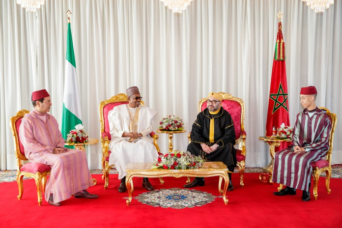 President Buhari receives a rousing welcome in Morocco