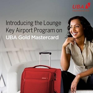 UBA Re-introduces 'Lounge Key' Airport Program on Its Gold Mastercard