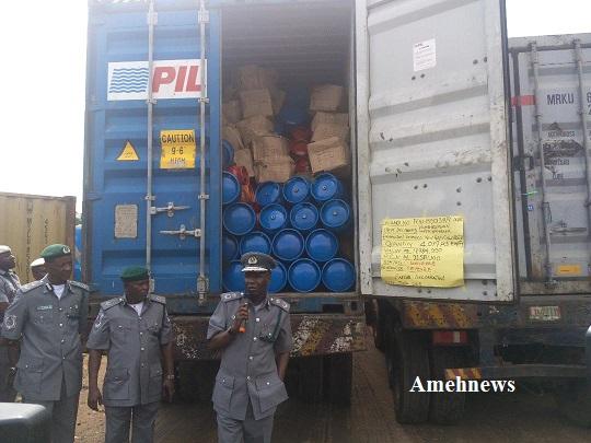 FOU Zone 'A' Ikeja intercepts contraband valued N1.40bn