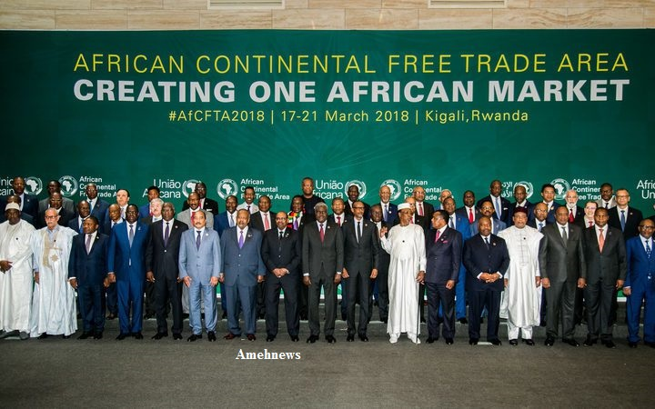 Nigeria, Other Five Battles Forty-Nine UA Countries on AfCFTA Ratification The Agreement