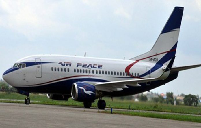 Air Peace Schedule Its route Abuja to Monrovia, Accra flights