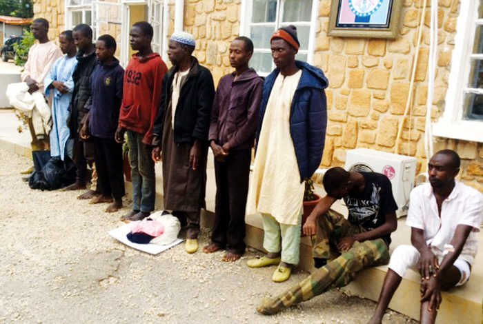 Plateau: 21 suspects held