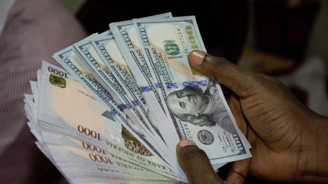 Naira loses against dollar at parallel market