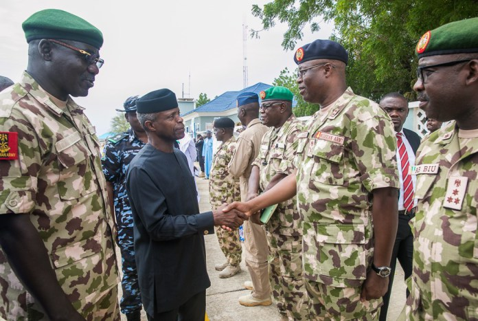 Boko haram will end sooner than later- VP Osinbajo