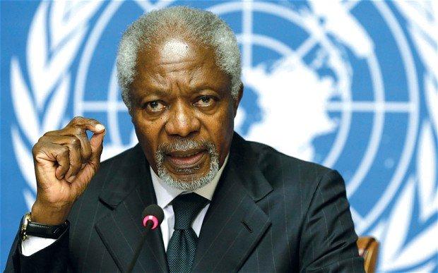 BREAKING: Former UN Secretary General, Kofi Annan dies