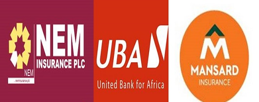 Nem Insurance, UBA, Mansard Insurance accounted for 360.623mn shares by volume on the floor of NSE