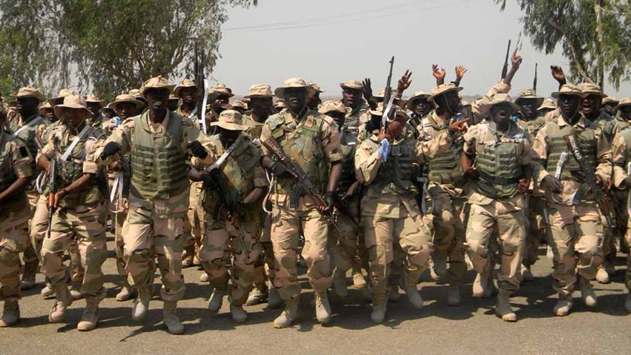 Army Says Killed Scores Of Terrorist In Borno After Attacking Hideouts With Fighter Jets