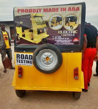 Aba Keke Napep That Doesn't Use Fuel