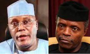 Osinbajo, Atiku clash over restructuring