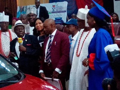 ABUAD's 43 pioneer doctors inducted