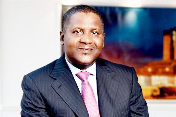 Dangote Group's revenue'll hit $30bn by 2020 ― Dangote