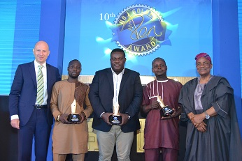 OUTSTANDING JOURNALISTS GETS REWARDS AT NB 10TH GOLDEN PEN AWARDS