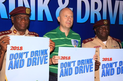 Nigerian Breweries Partners FRSC 'Don't Drink and Drive Campaign', 2018