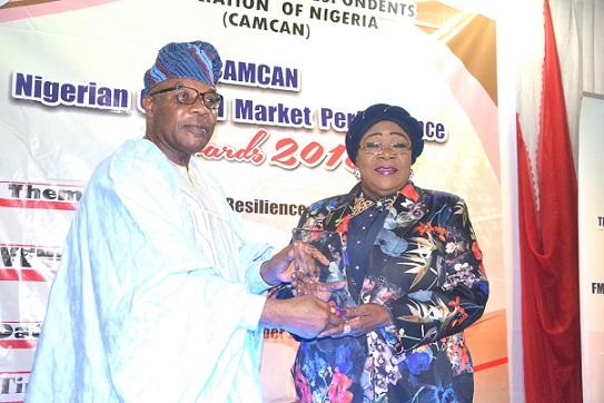 Prof (Mrs) Ndi Okereke-Onyiuke, fmr DG the NSE Applauds CAMCAN's Nigerian Capital Market Performance Awards maiden edition