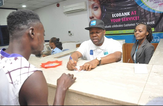 """Customer Service Week: """"Our Huge Opportunity To Say Thank You"""" – Ecobank Teller, Patrick Akinwuntan"""