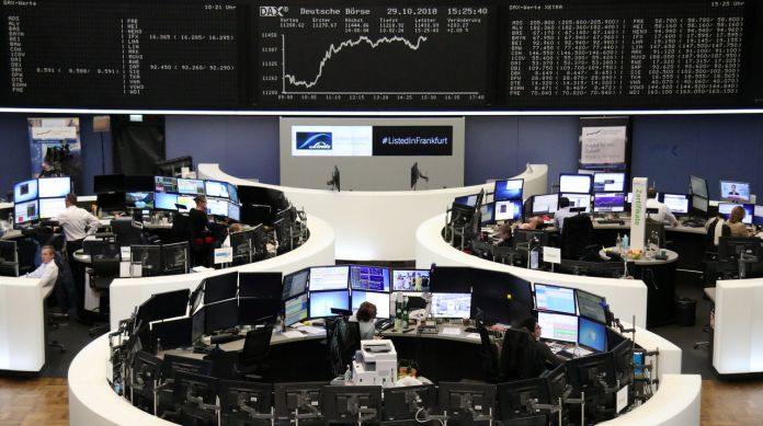 European shares recover after U.S. election vote