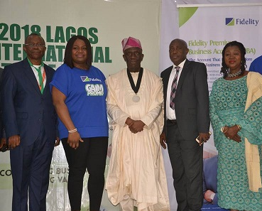 Fidelity Bank's FPSS and SWEETA Presentation at the Lagos International Trade Fair