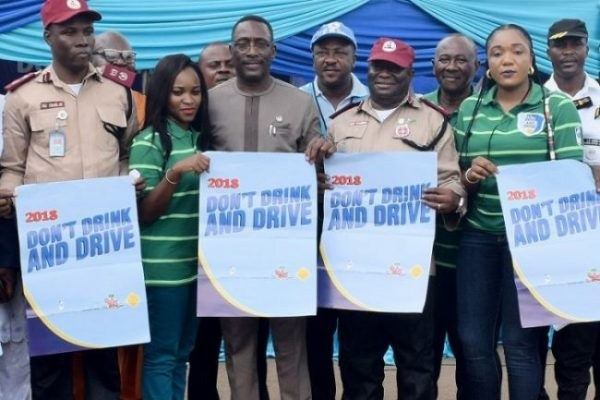 """Nigerian Breweries, FRSC Hold Mega Rally on """"Don't Drink and Drive"""" Campaign in Lagos"""