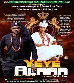 Eniola Ajao's multi-million naira movie 'Yeye Alara' release tomorrow
