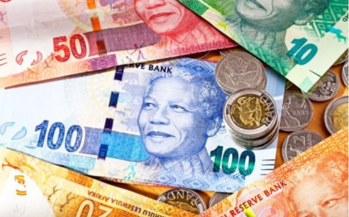 South African rand steady in early trade