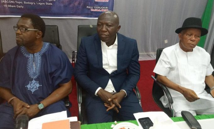 AMJON TASKS NIMASA FOR ADEQUATE SECURITY ON NIGERIAN WATERWAYS