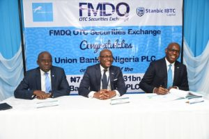 FMDQ OTC lists N13.50bn Union Bank bonds