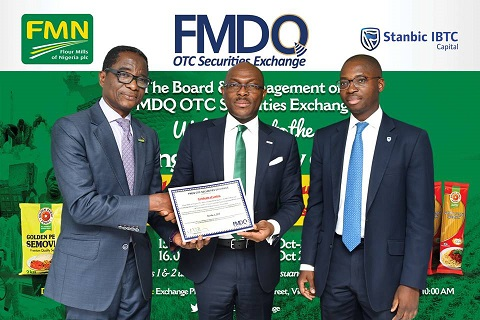 FMDQ Lists the 37th Bond - Flour Mills of Nigeria PLC Bonds - on its Platform
