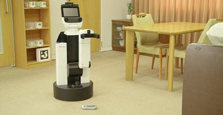 Toyota plans making a Robot for every home soon