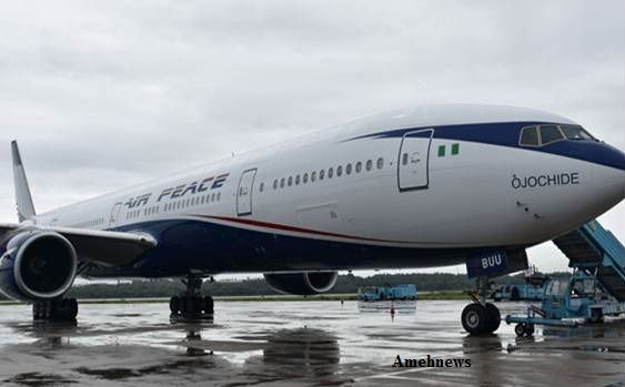 Air Peace commences flight operations with 5N-BUV takes off at MMA 2
