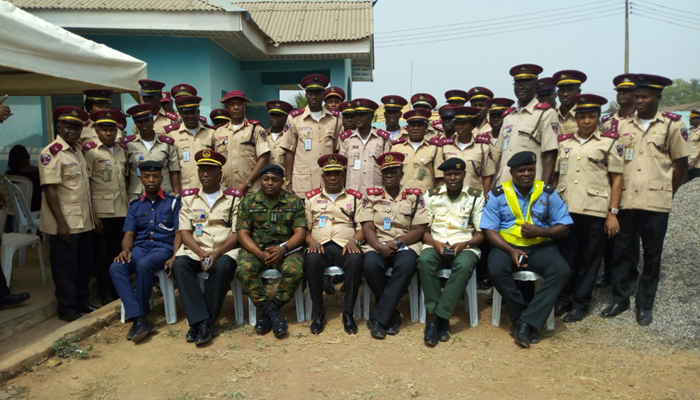 FRSC inaugurates 40 special marshals at MMA2