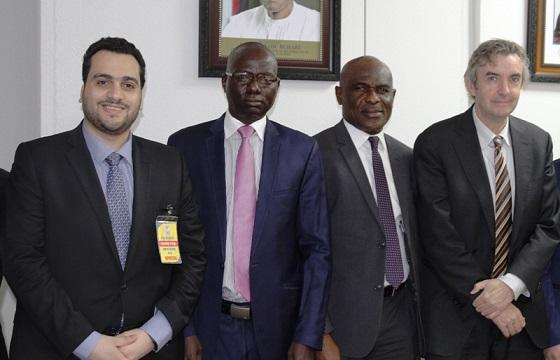 SEC Nigerian Meets IMF Delegates