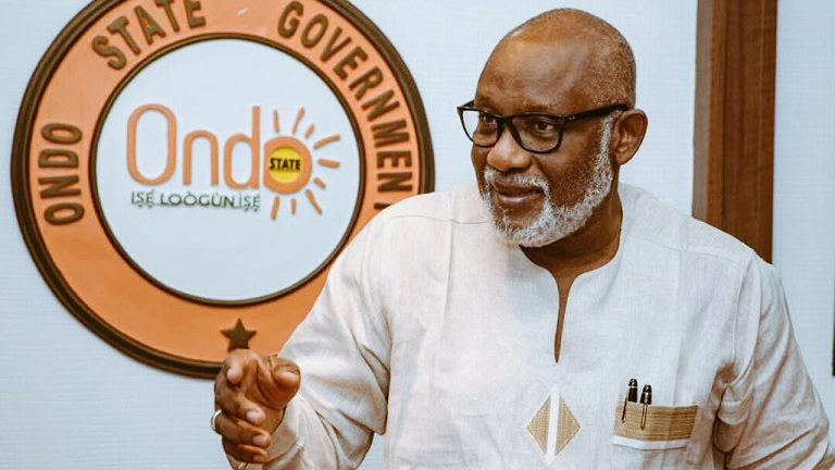 Akeredolu calls for investment in capital market in Ondo