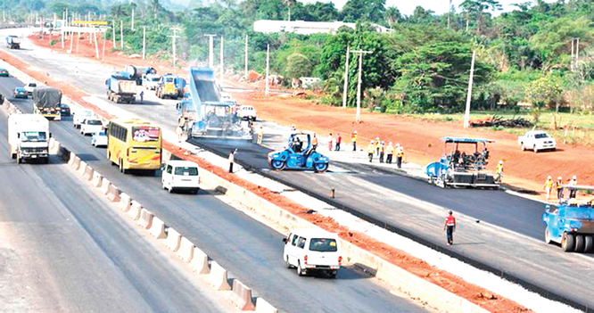 Lagos-Ibadan road: Contractor to increase work pace
