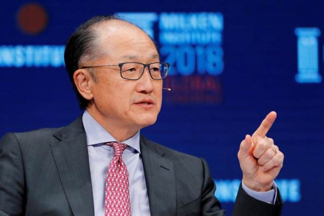 World Bank president to step down February 1