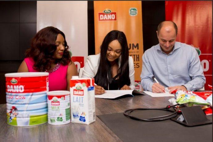 Dano Milk signs brand ambassador,Nollywood actress Rachael Okonkwo