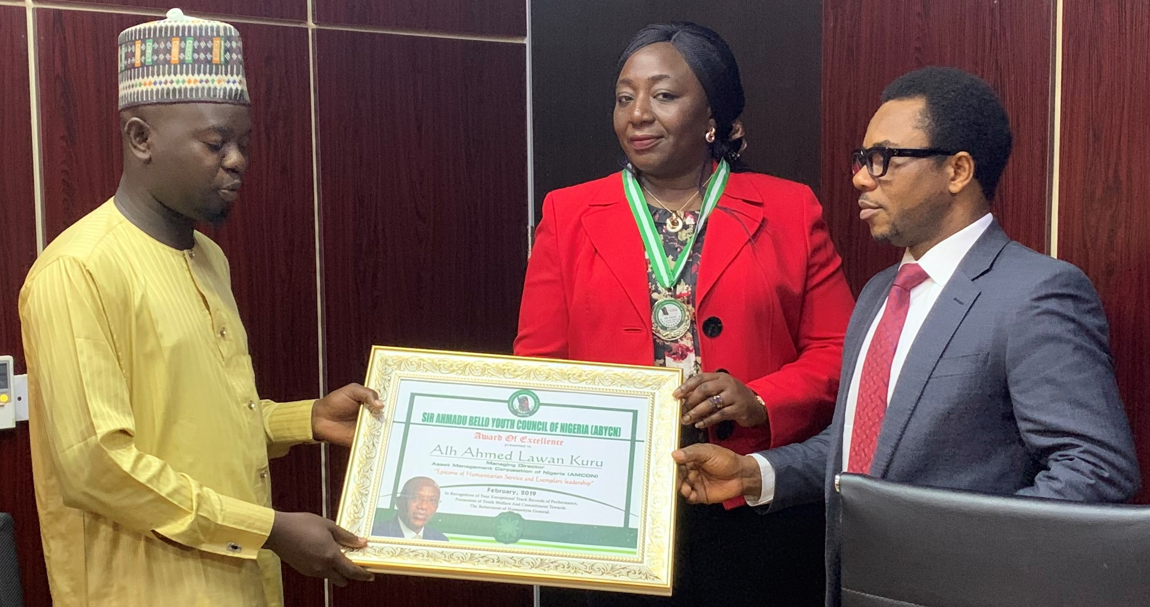 Youth Council Honours Ahmed Kuru, AMCON MD