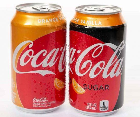 Coca-Cola New Trademark Orange Vanilla Coke, Orange Vanilla Coke Zero Sugar Hits Market This Month