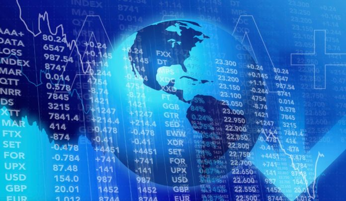 Global shares slip from four-month high