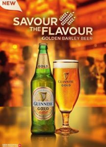 Guinness Nigeria deeps lager beer drinking market with Guinness Gold, a new Premium lager beer