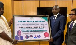 AMCON Boss Receives Another Award From Arewa Youth Assembly