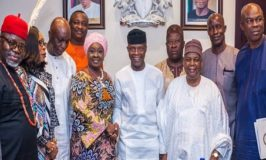 VICE PRESIDENT OSINBAJO EXPRESSES CONFIDENCE IN NEW NDIC BOARD